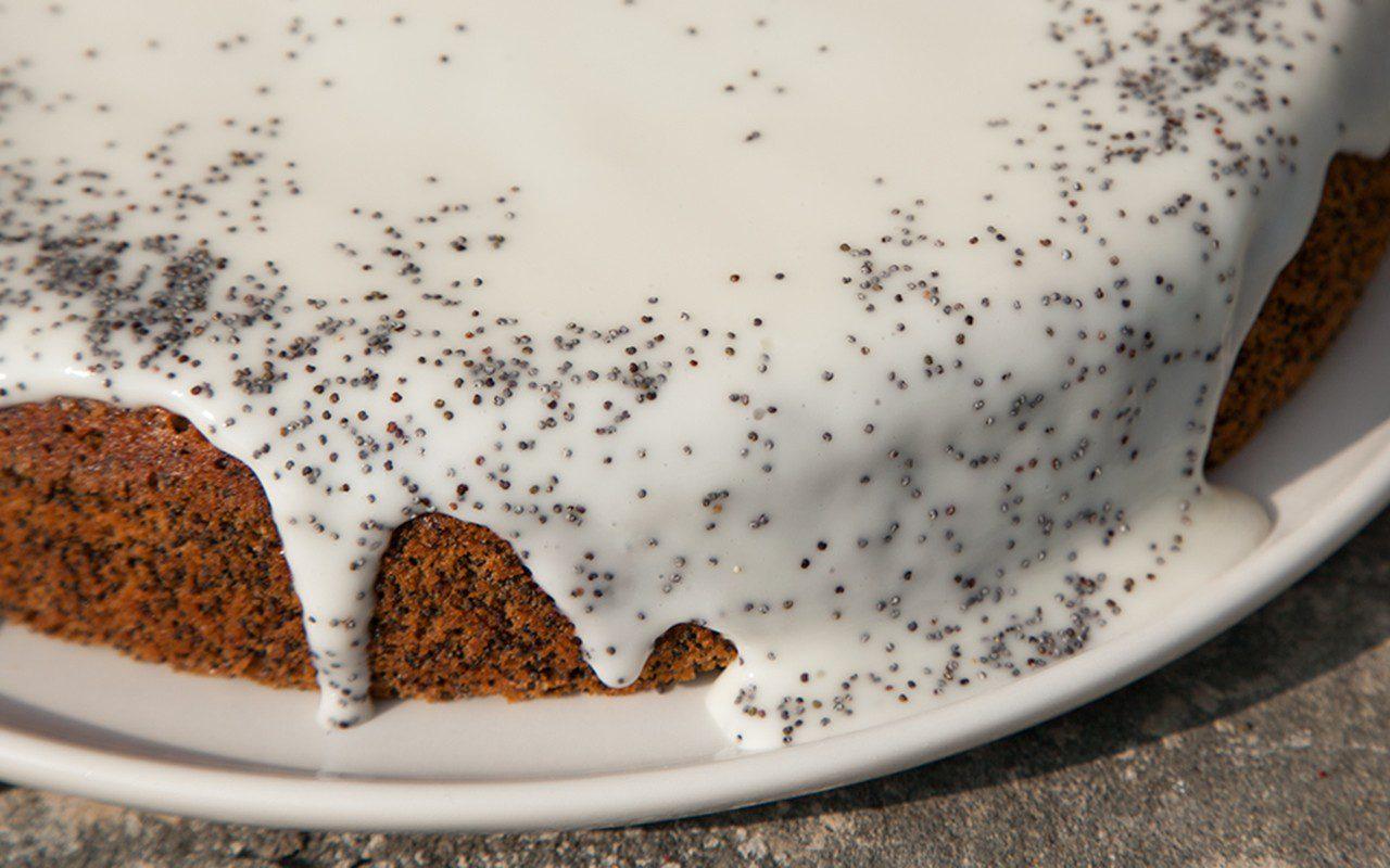 Mohnkuchen - Austrian Poppy Seed Cake