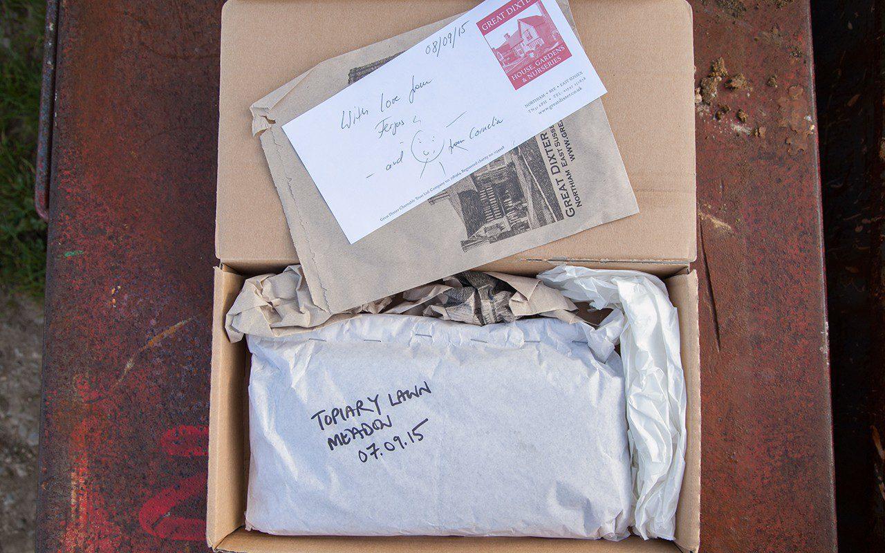 Great Dixter meadow seed package