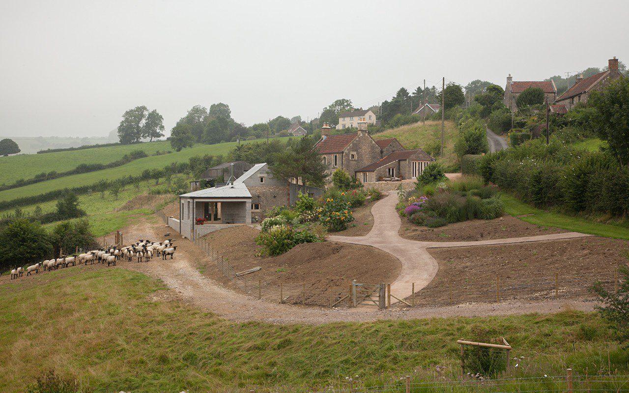 Dan Pearson's new garden in Somerset