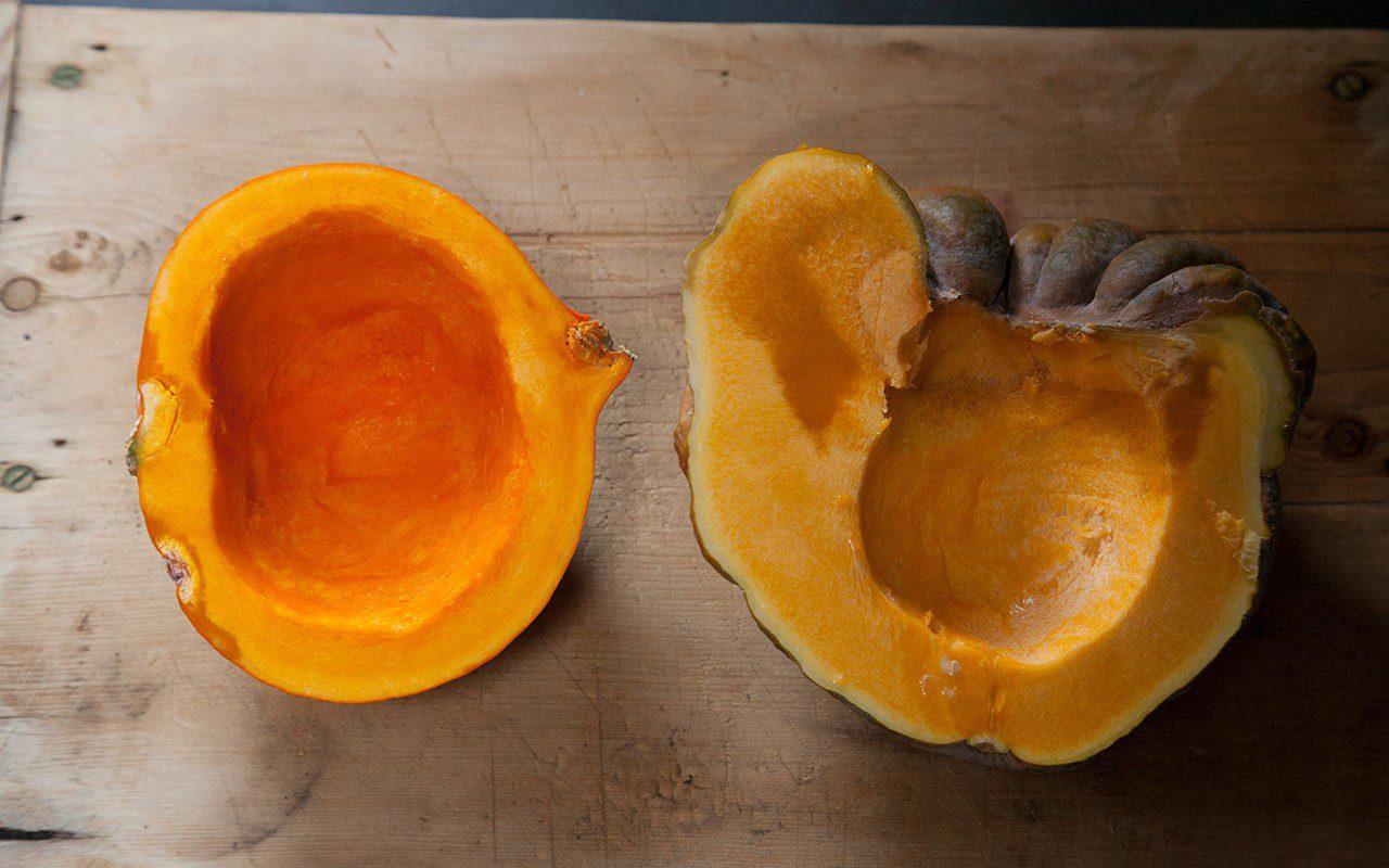 Prepared pumpkins