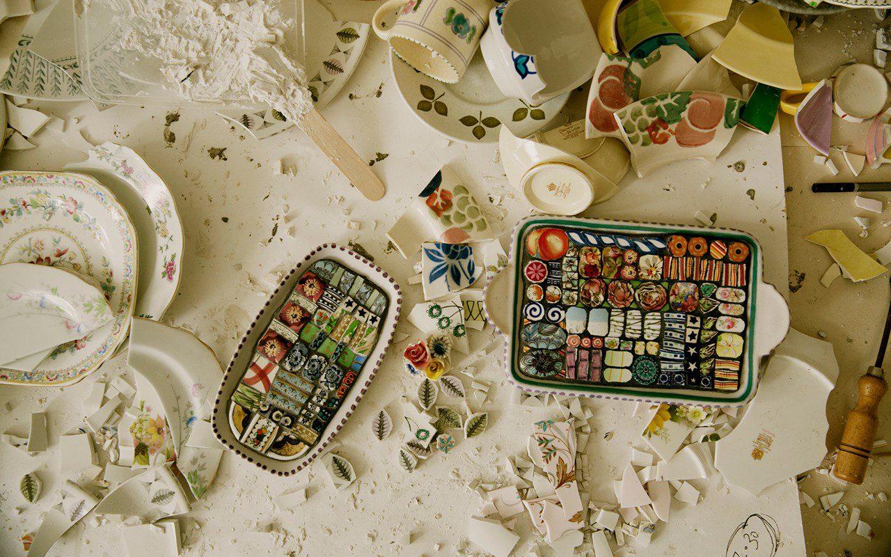 Mosaic Artist, Cleo Mussi by Emli Bendixen for Dig Delve