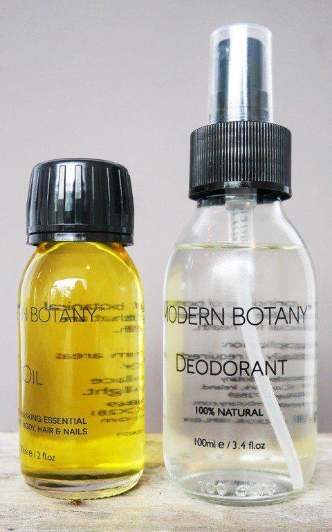 Modern Botany Deodorant & Multi-tasking Oil